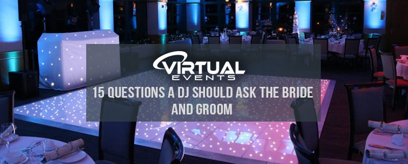 Questions A DJ Should Ask The Bride And Groom